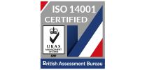 BSI Assurance ISO 14001 2015 Logo